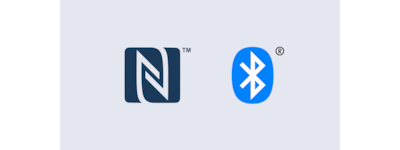 Logotipos de NFC y Bluetooth®