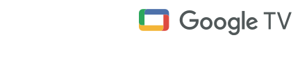 Logotipo de Google TV